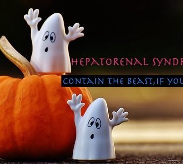 HepatoRenal Syndrome- Contain the Beast, if You Can